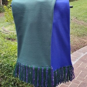 Tall Sky-Mens double sided fleece scarf